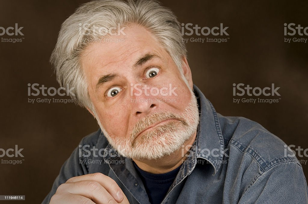 Village Idiot stock photo