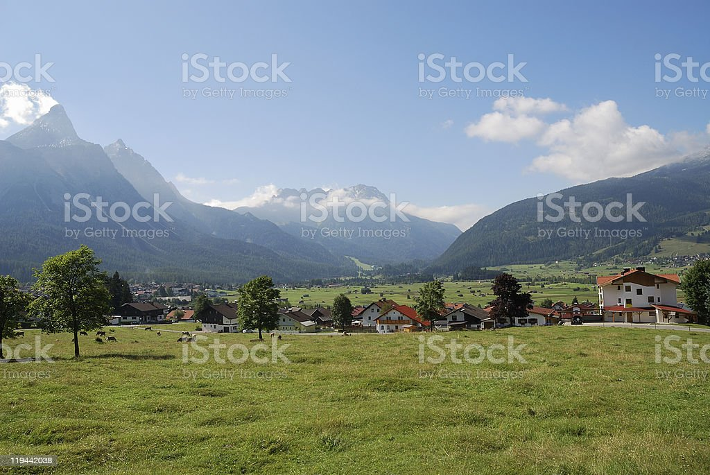 Village in Austria royalty-free stock photo