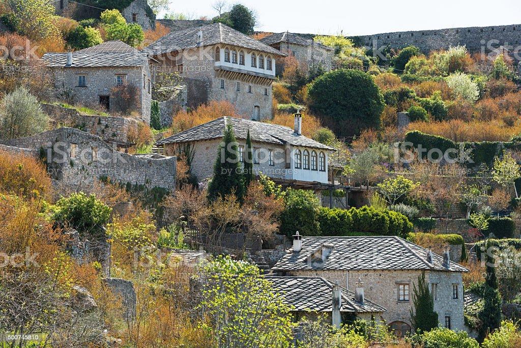 Village in Bosnia and Herzegovina stock photo