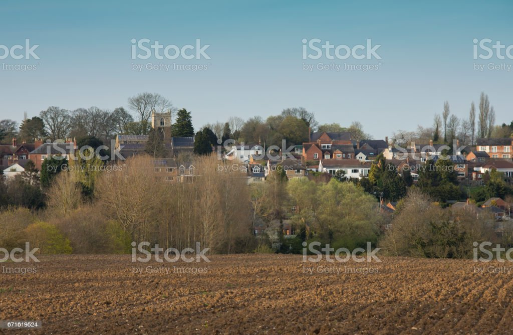 Village In England stock photo
