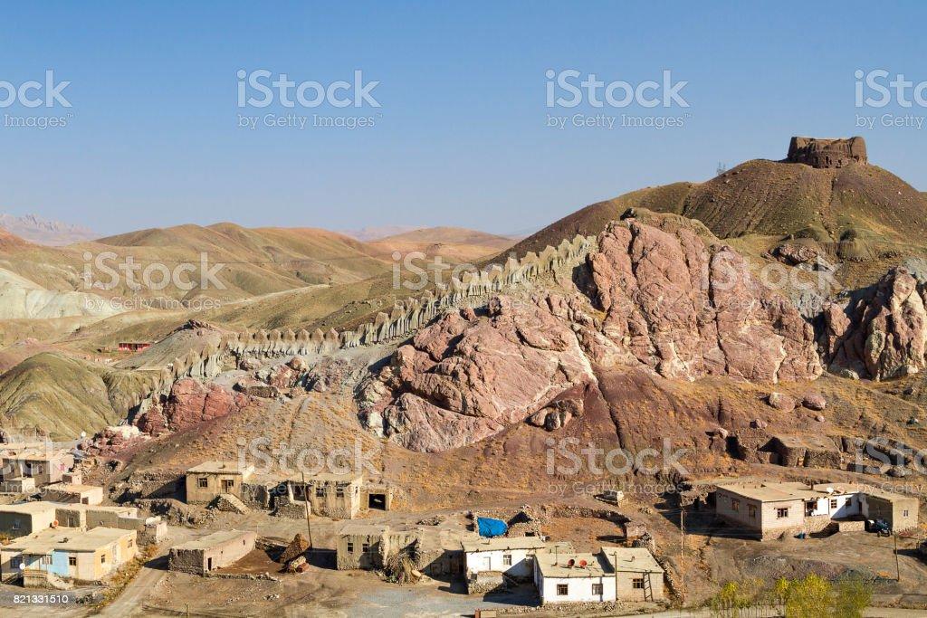 Village in the Eastern Turkey. stock photo