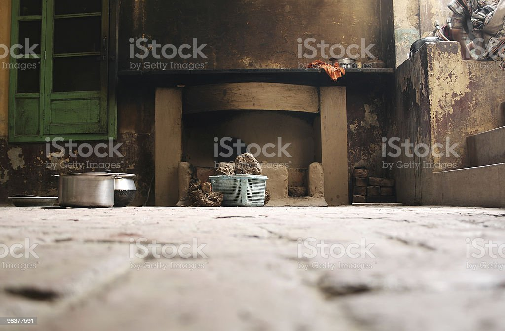 Village life royalty-free stock photo