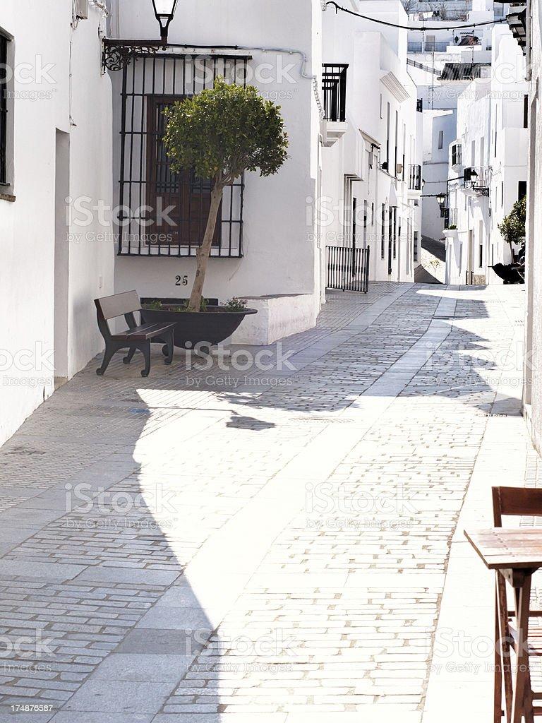 Village of Cadiz stock photo