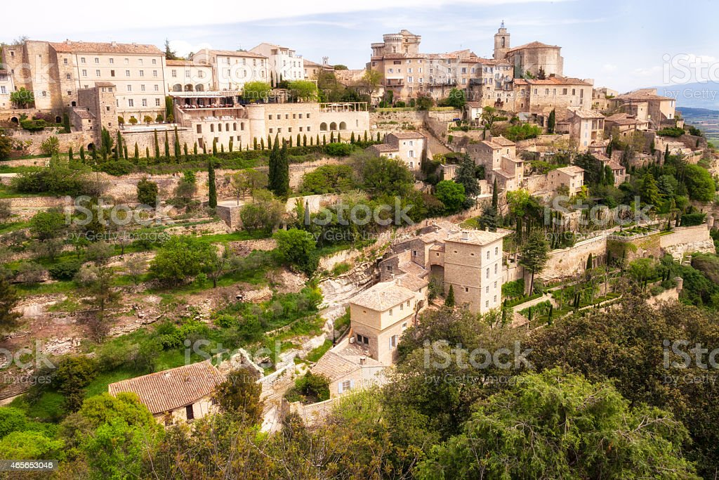 Village of Gordes in Provence, France stock photo