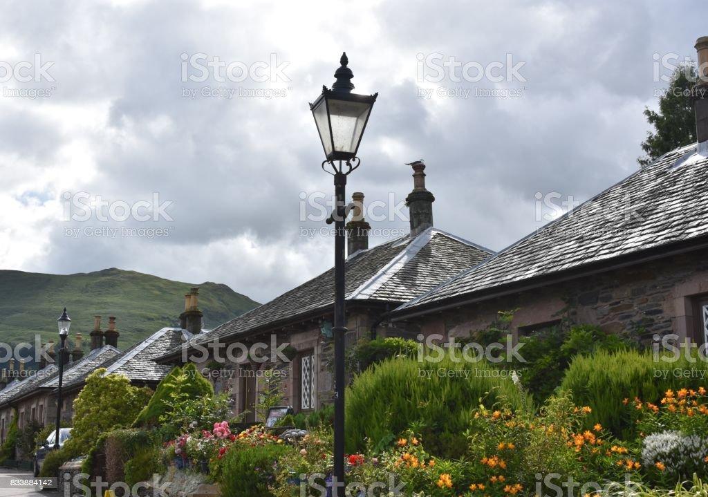Village of Luss stock photo
