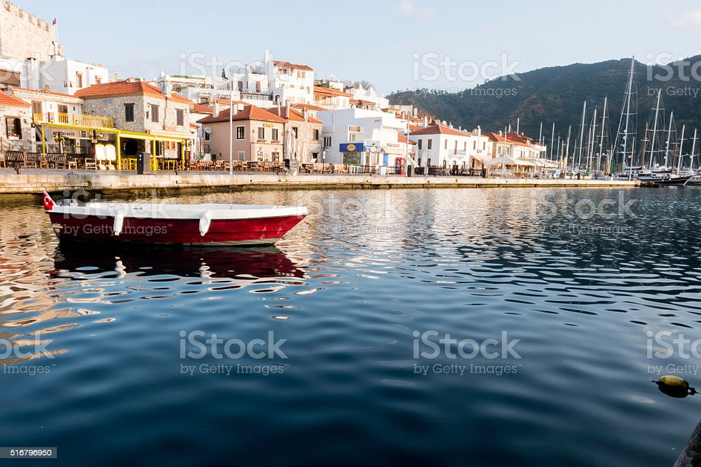 Village of Marmaris stock photo