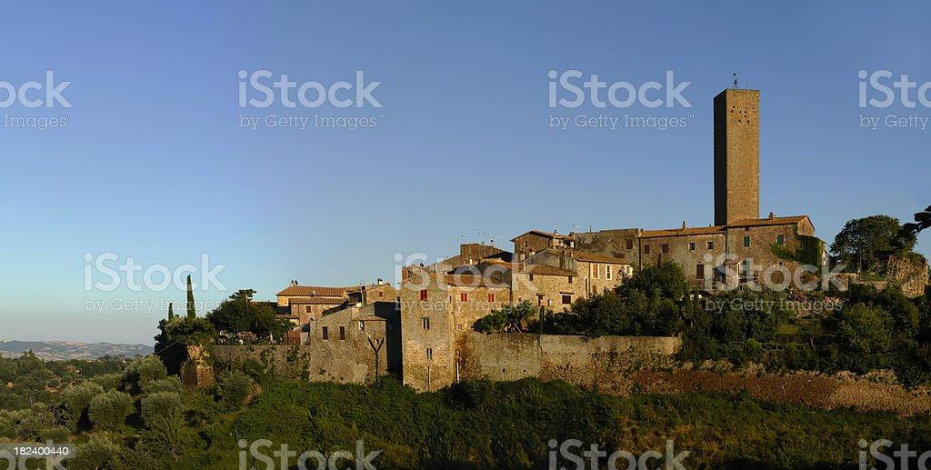 Village of Pereta - Maremma tuscany royalty-free stock photo