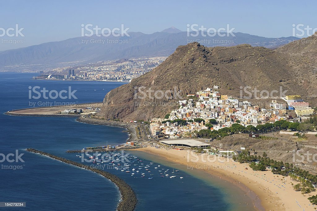 Village of San Andres stock photo