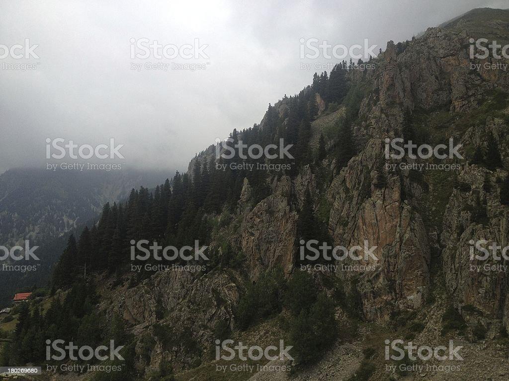 Village of Trabzon royalty-free stock photo
