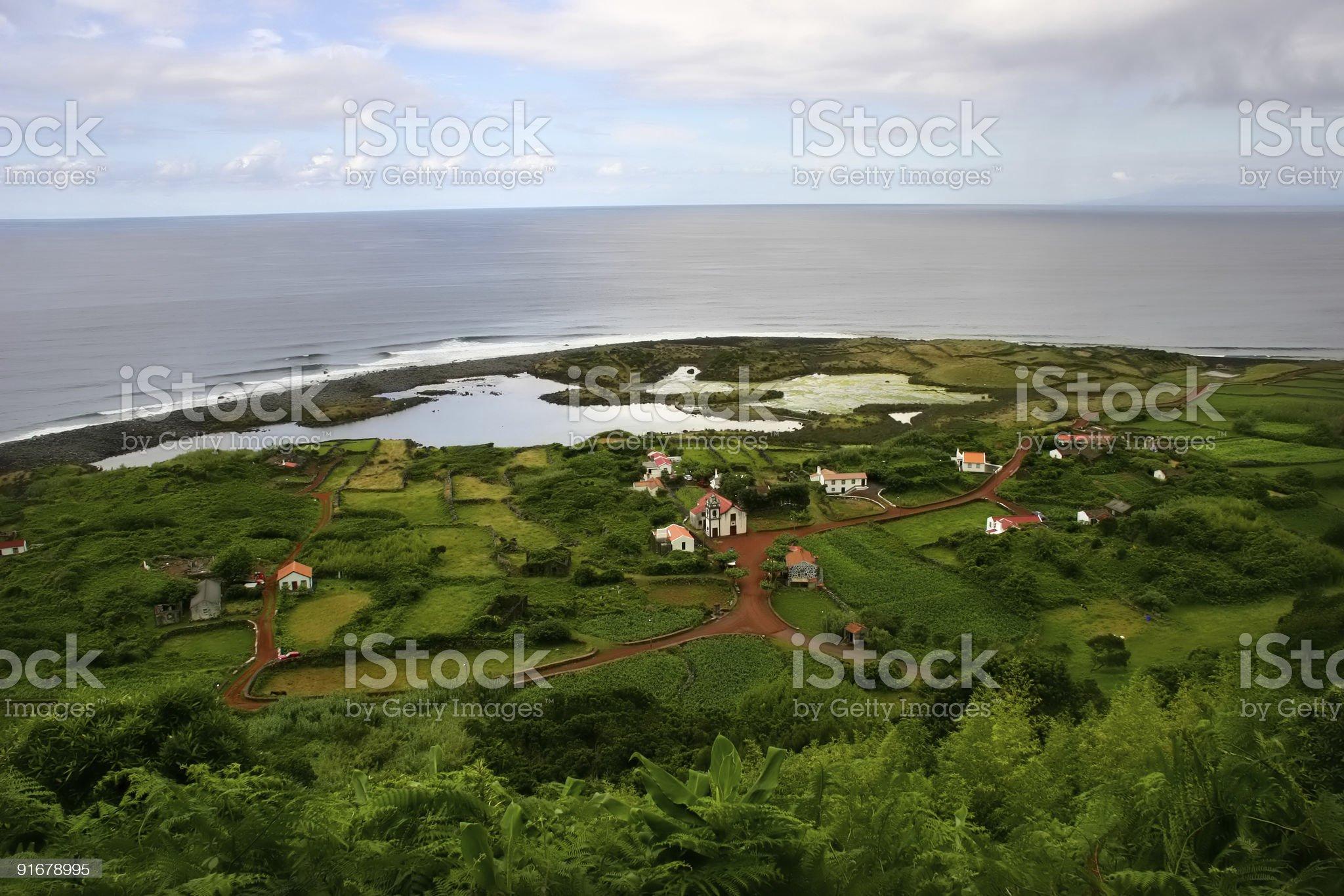village royalty-free stock photo
