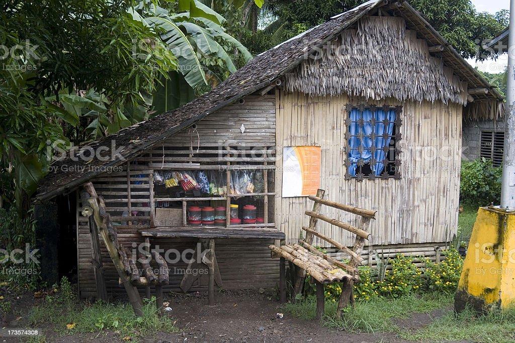 Village shop, Philippines royalty-free stock photo