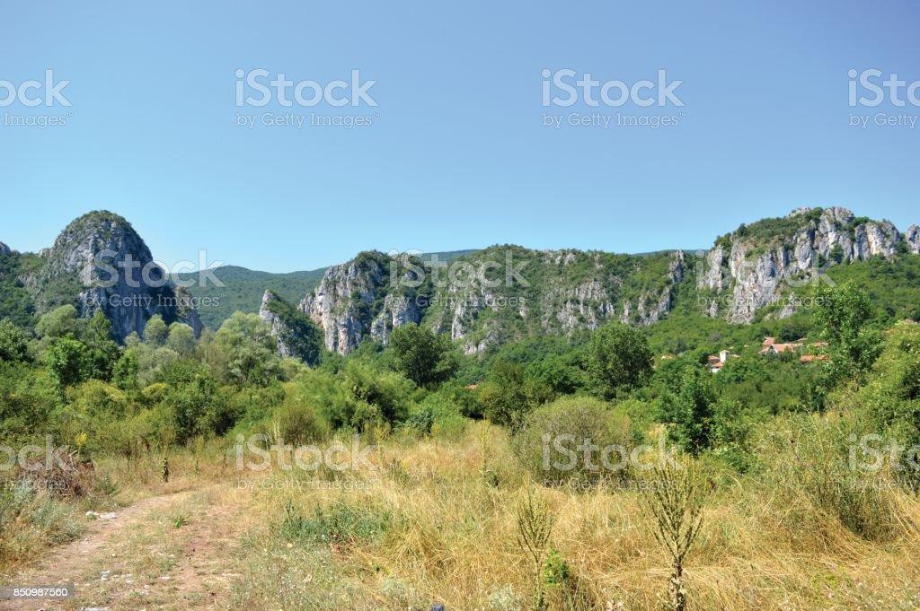 Village Vlasi stock photo