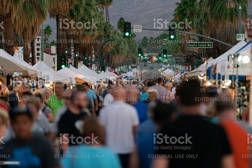 Villagefest stock photo