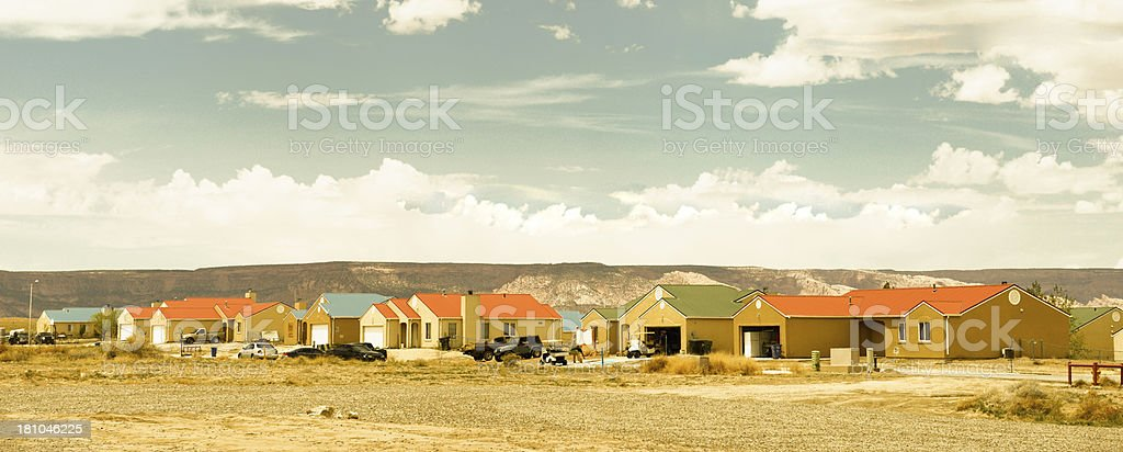 Village,Southwest USA. stock photo