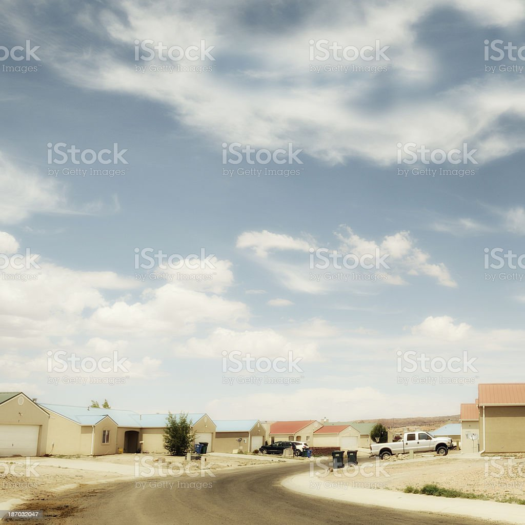 Village,USA stock photo