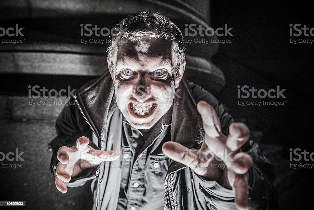 Villain stock photo