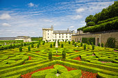 Villandry Chateau and gardens, France