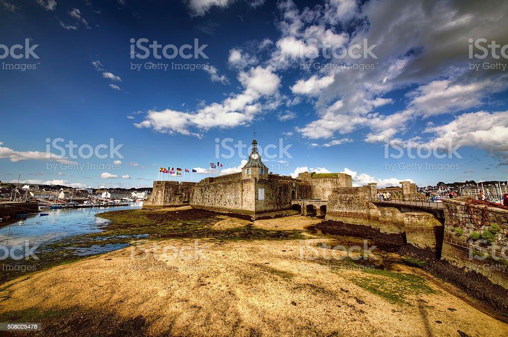 Ville Close, Concarneau, Brittany stock photo