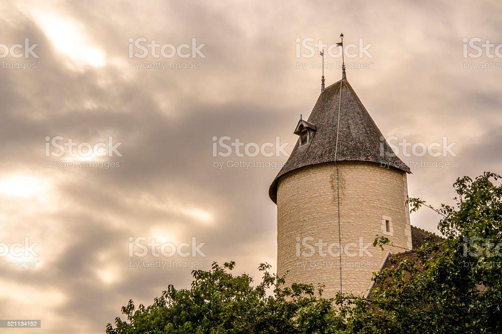 Ville de Troyes stock photo