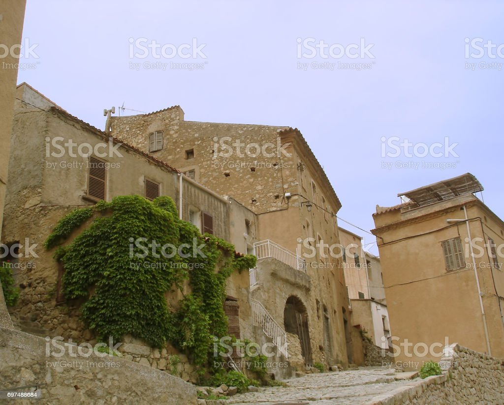 Ville di Paraso in Haute Balagne stock photo