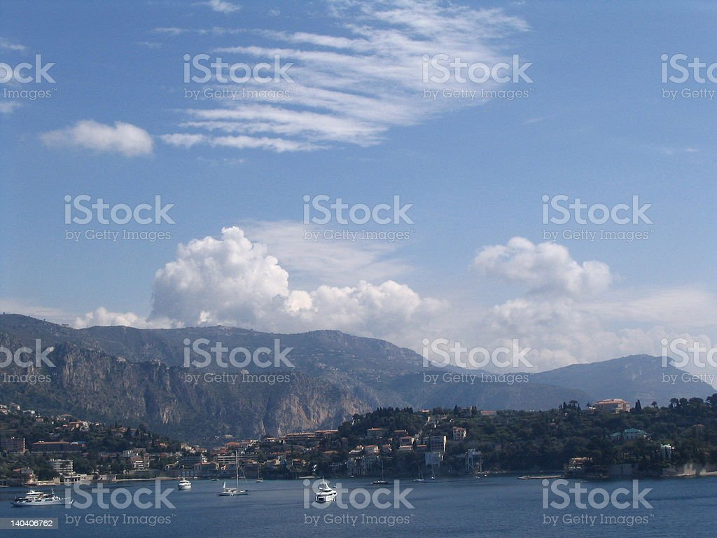Villefranche, france royalty-free stock photo