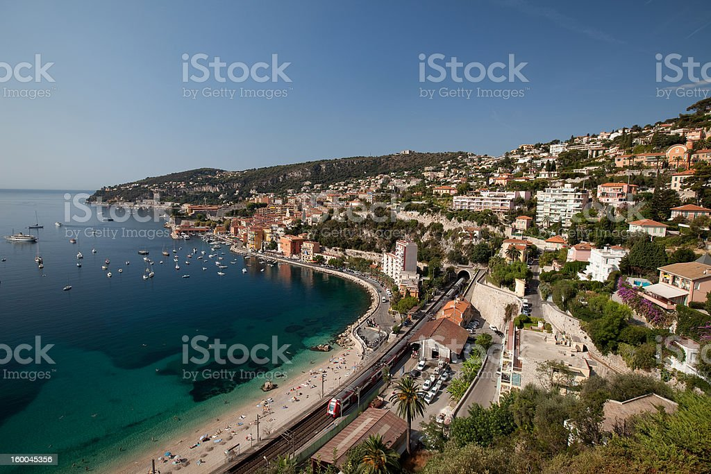 Villefranche royalty-free stock photo