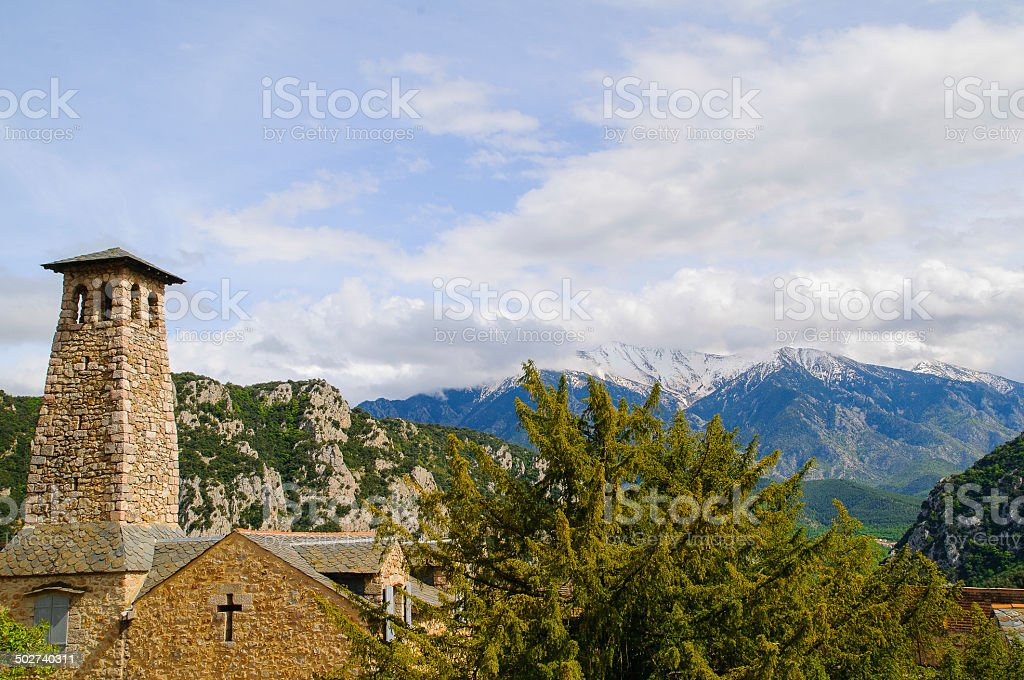 Villefranche-de-Conflent stock photo