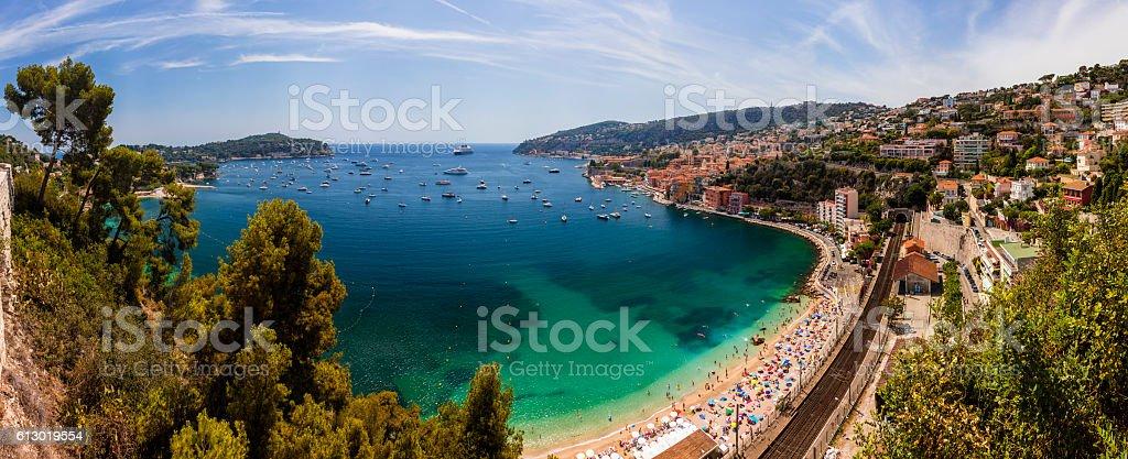 Villefranche Sur Mer, Cote d'Azur, France stock photo