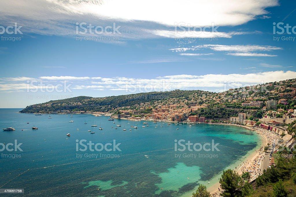 Villefranche-sur-Mer, France stock photo