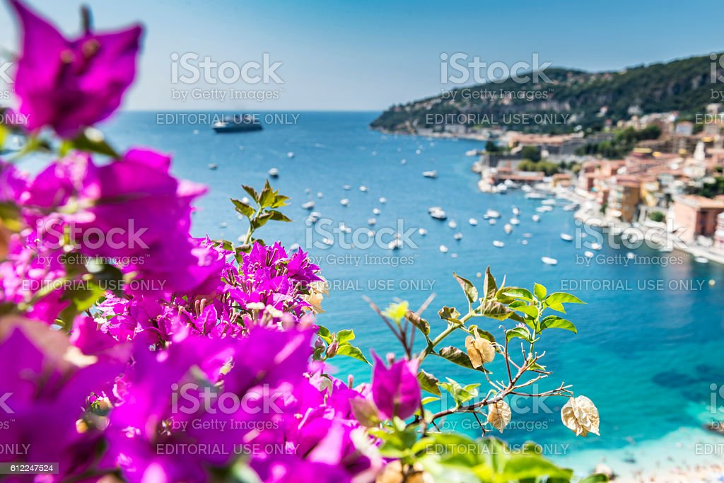 Villefranche-sur-Mer, France stock photo