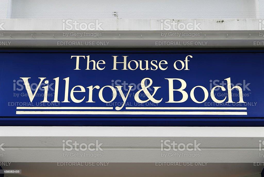 Villeroy und Boch stock photo