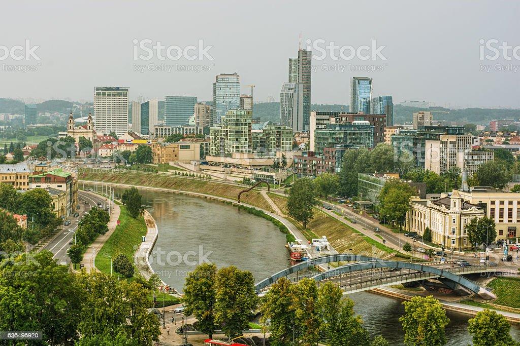 Vilnius HDR stock photo