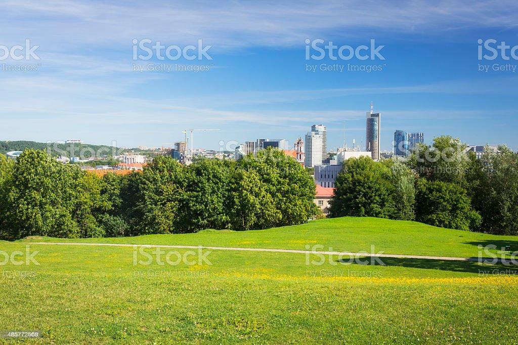 Vilnius, Lithuania stock photo