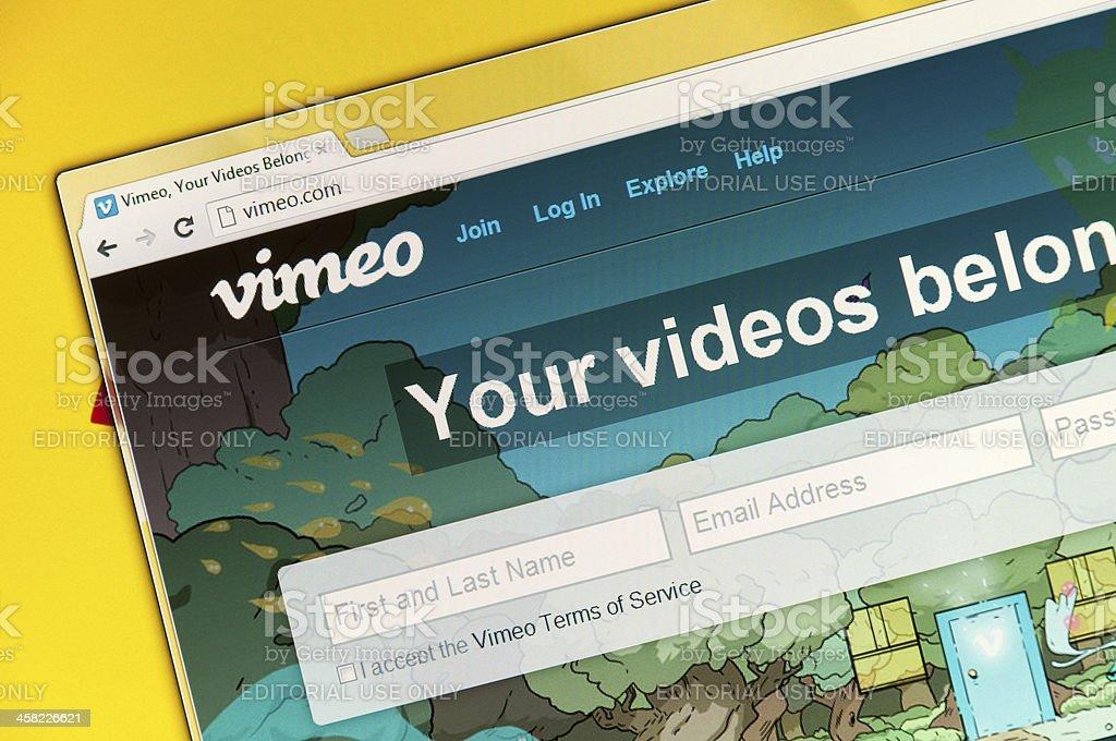 Vimeo stock photo