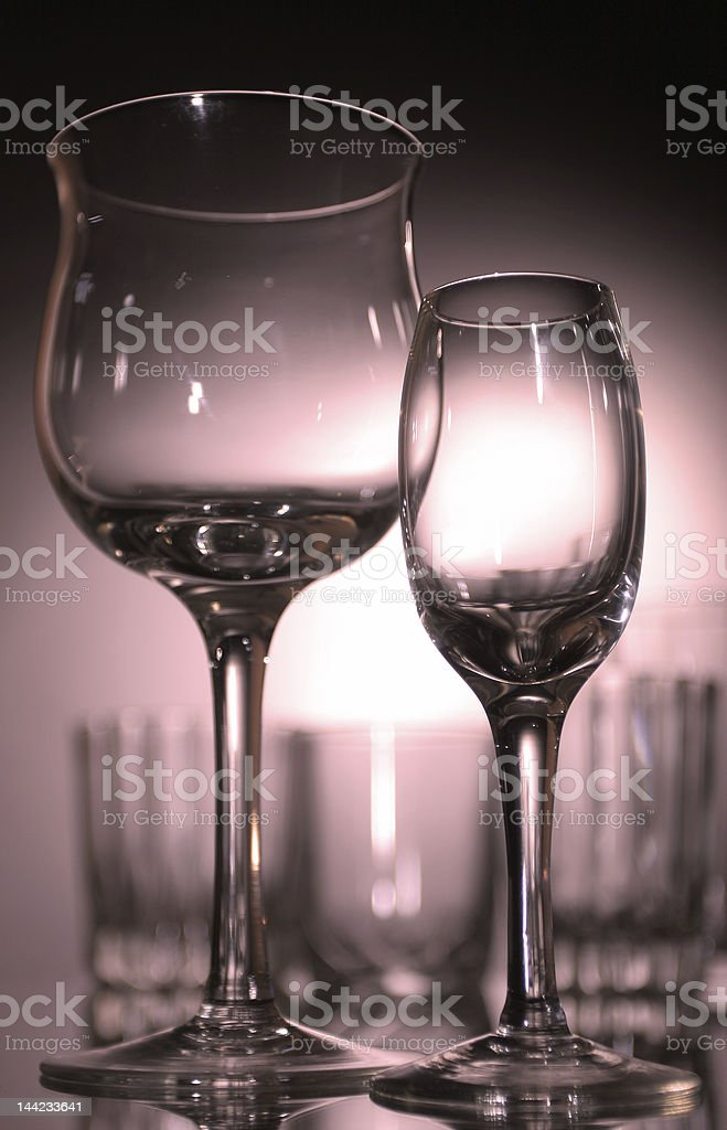 vine glass royalty-free stock photo