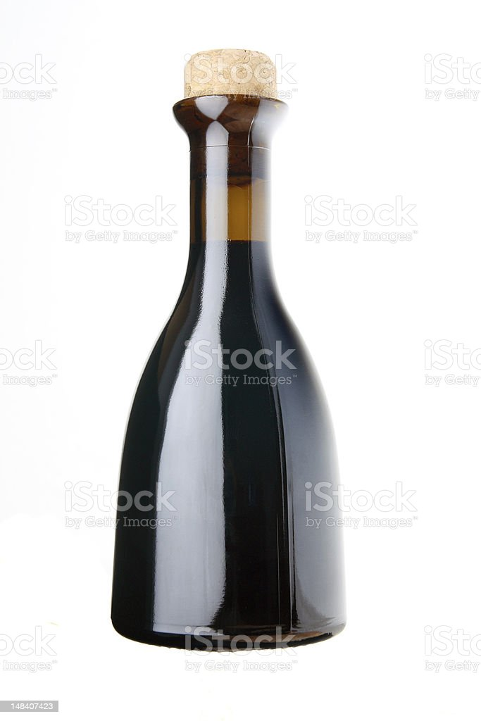 vinegar bottle stock photo