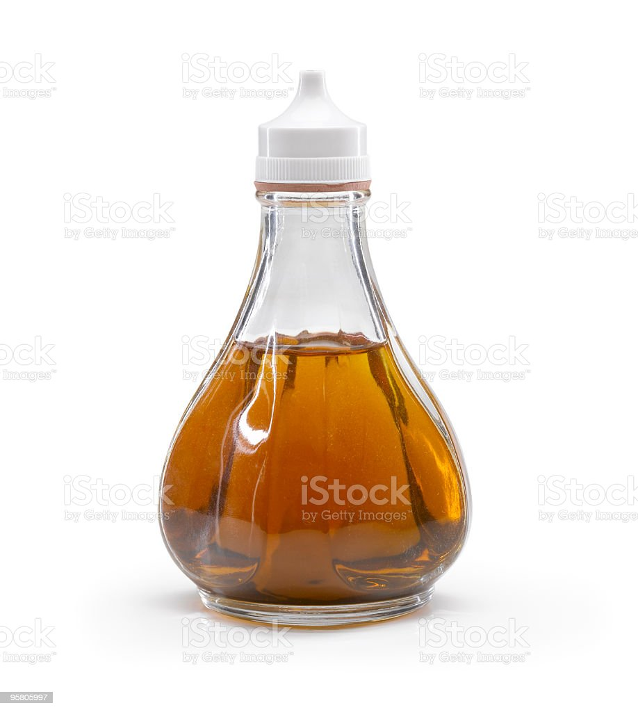 Vinegar Bottle royalty-free stock photo