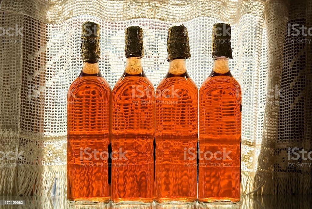 Vinegar Bottles royalty-free stock photo
