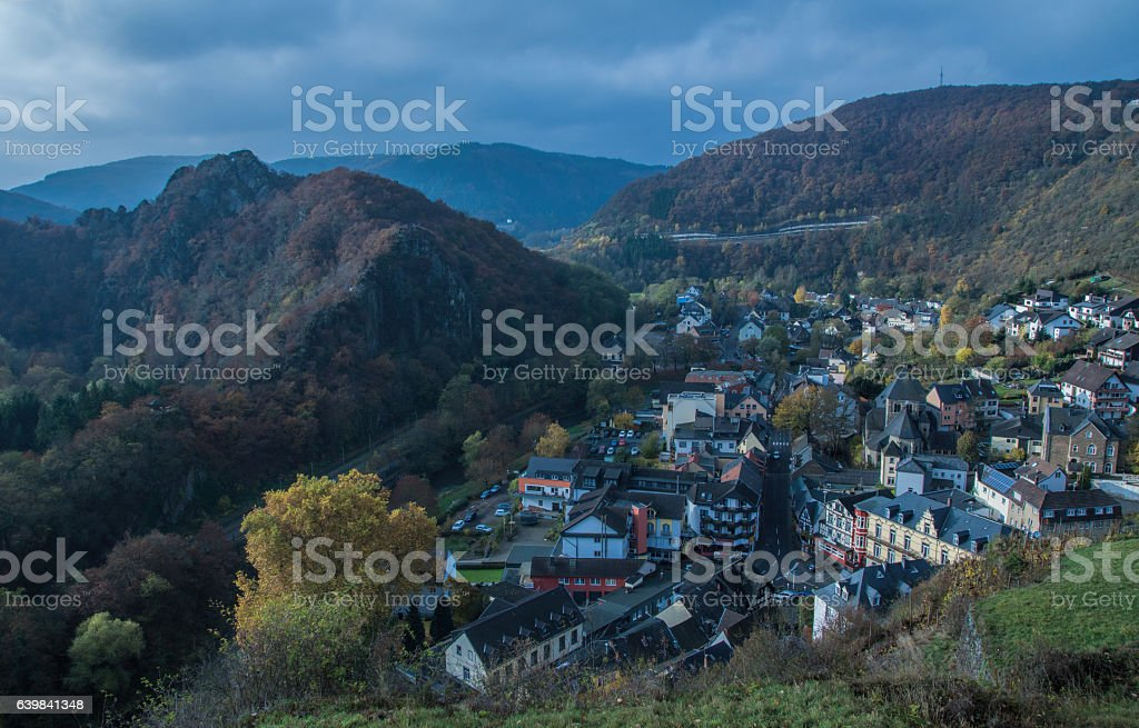 Vineplace Altenahr in Germany stock photo