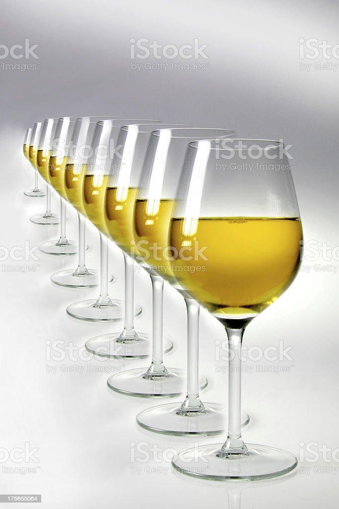 vino bianco royalty-free stock photo