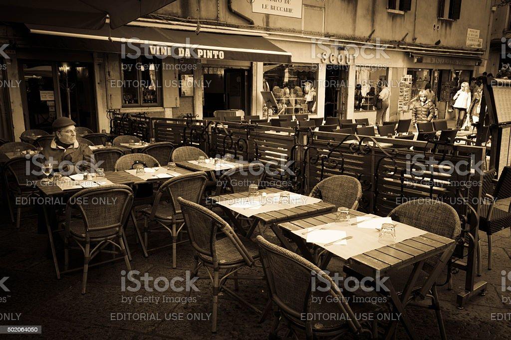 Vins da Pinto Venice stock photo
