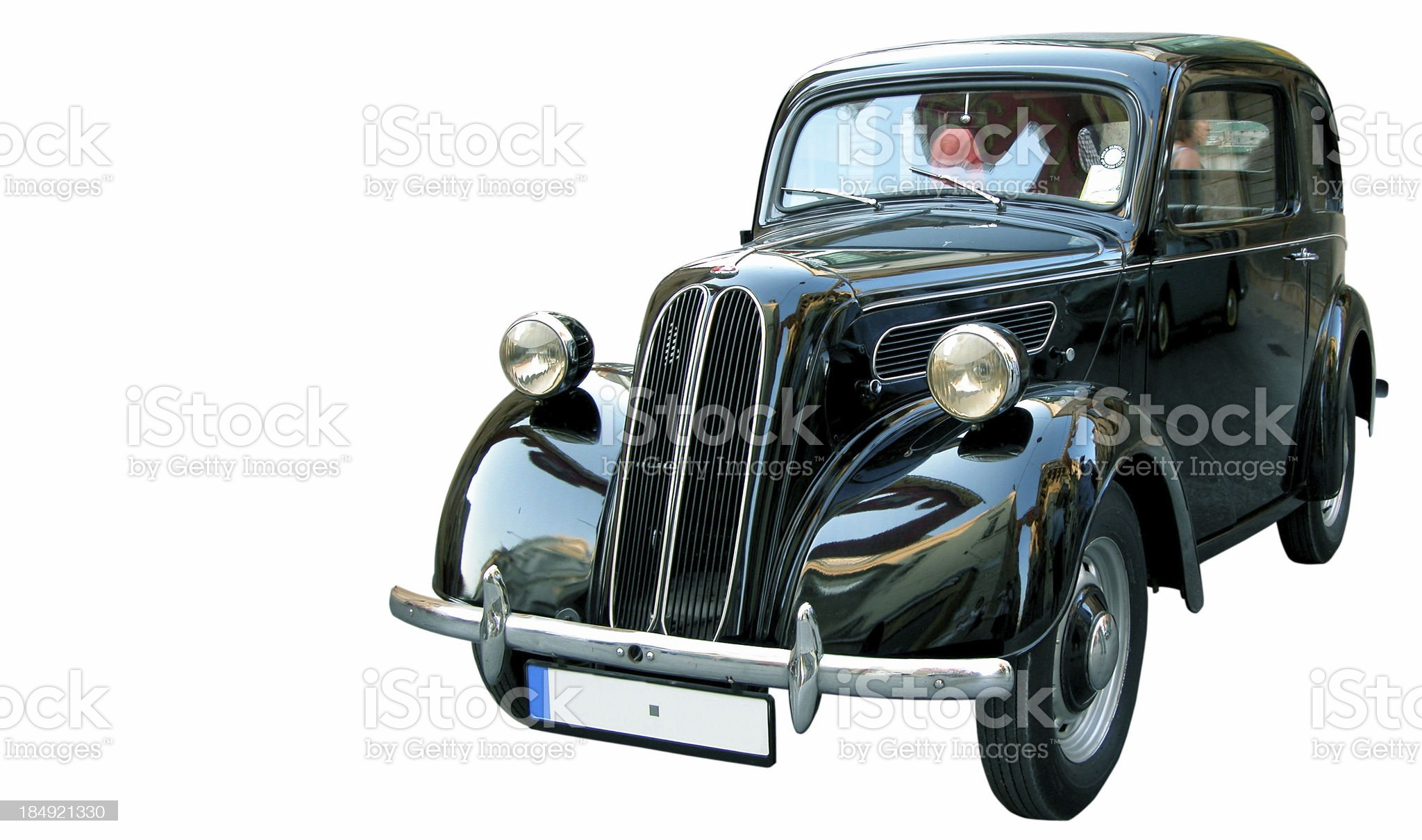 Vintage 1949 Car royalty-free stock photo