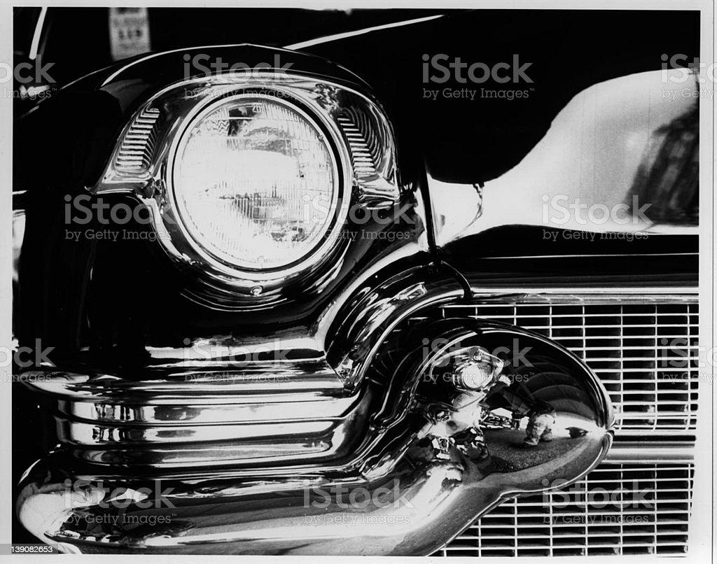 Vintage 1956 Cadillac stock photo