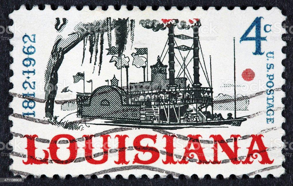 Vintage 1962 US stamp royalty-free stock photo