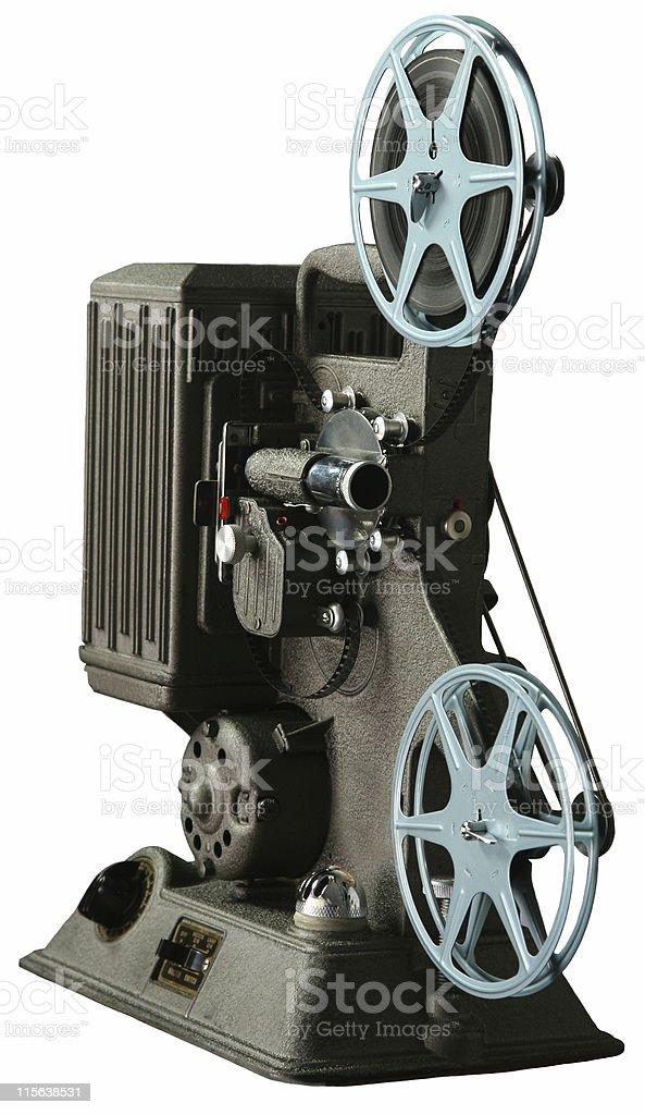vintage 8mm film movie projector stock photo