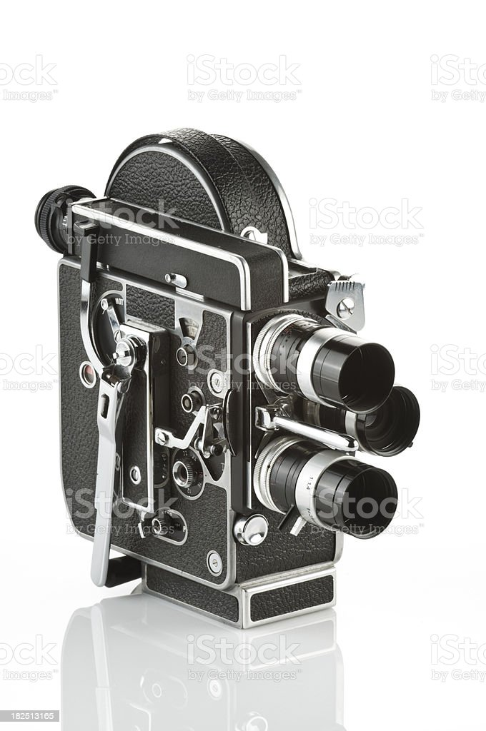 Vintage 8mm Movie Camera royalty-free stock photo