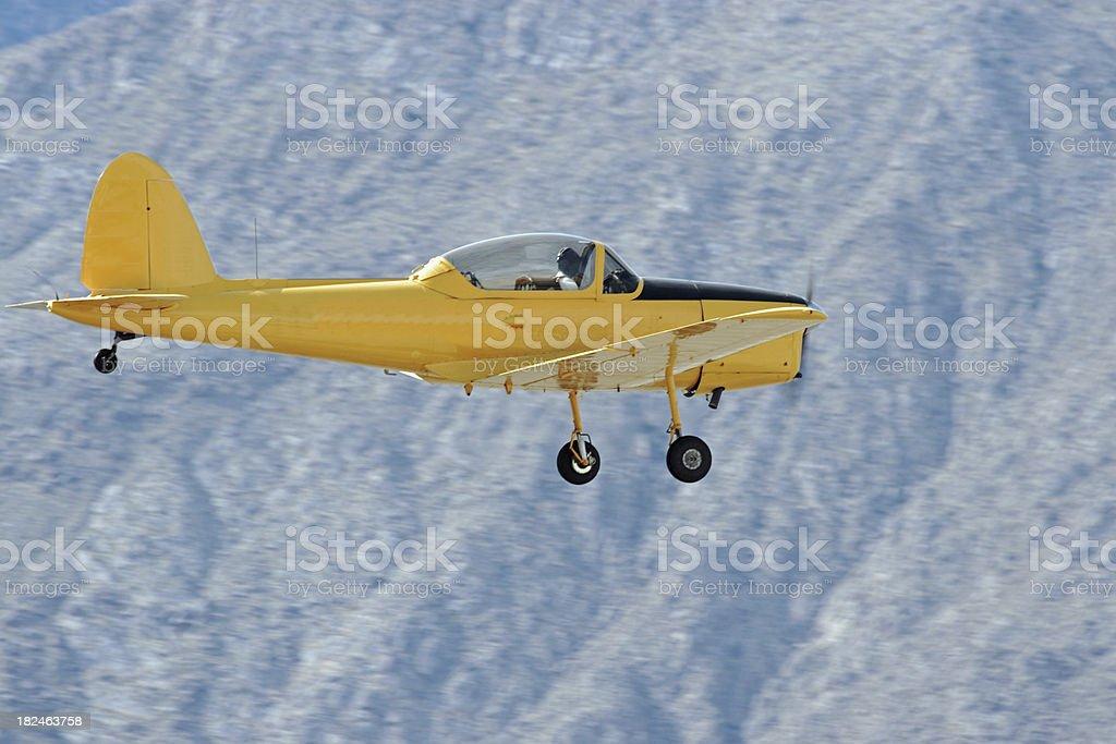 Vintage Aircraft stock photo