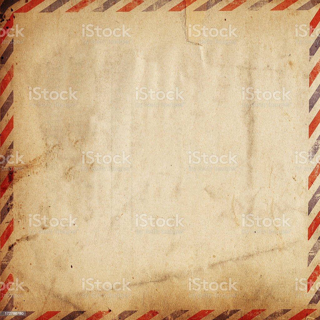 Vintage Airmail Paper XXXL stock photo