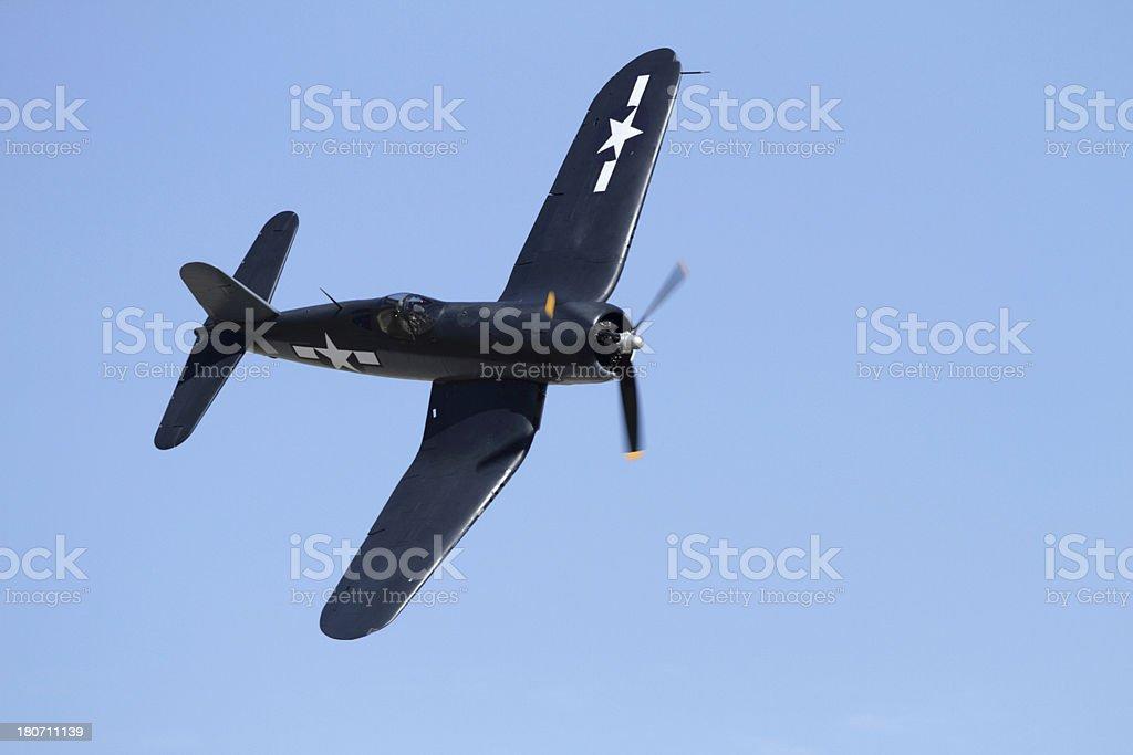 Vintage Airplane royalty-free stock photo