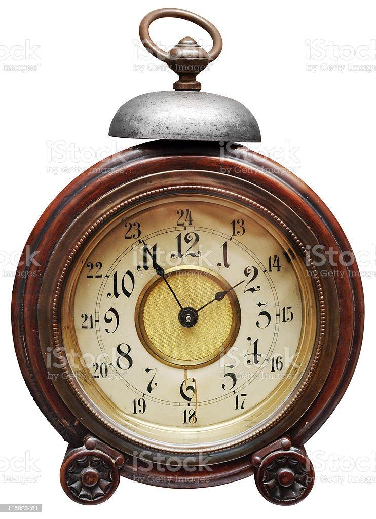 Vintage alarm-clock royalty-free stock photo